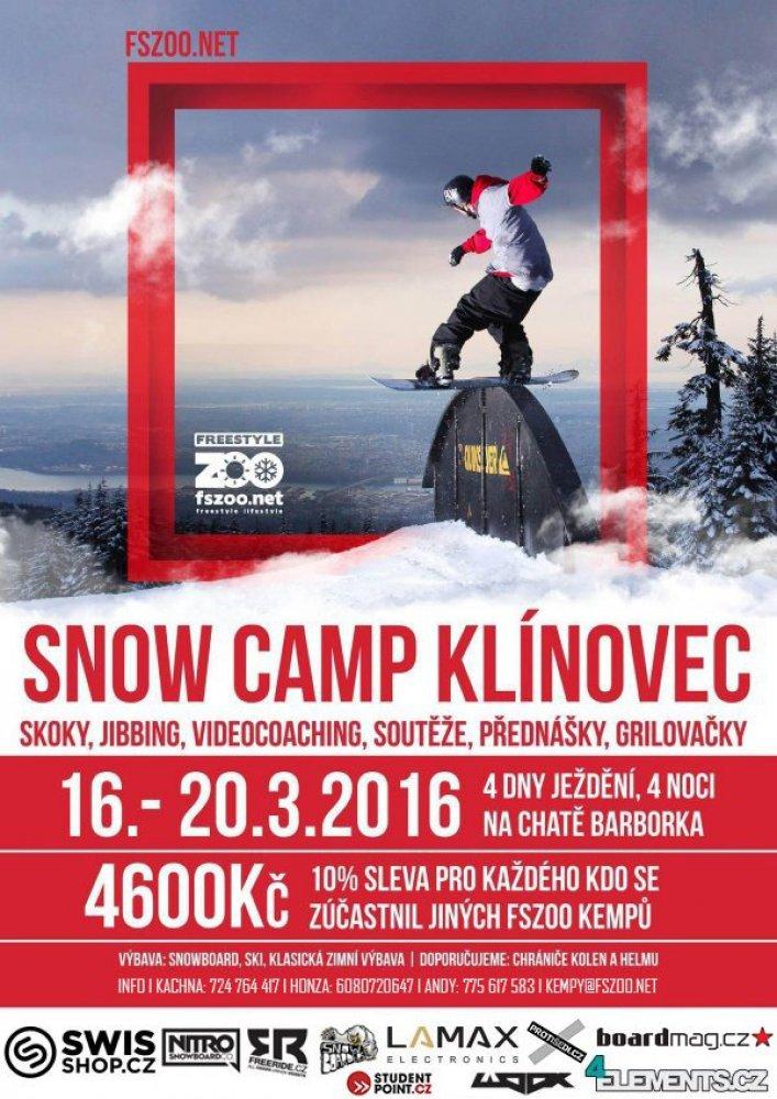 Snowboard Kemp Klínovec